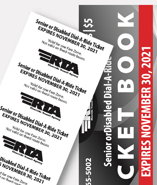 Dial-A-Ride (DAR) | 10-Ticket Book ($5 Special) | LIMIT ONE BOOK AND ONE ORDER PER CUSTOMER